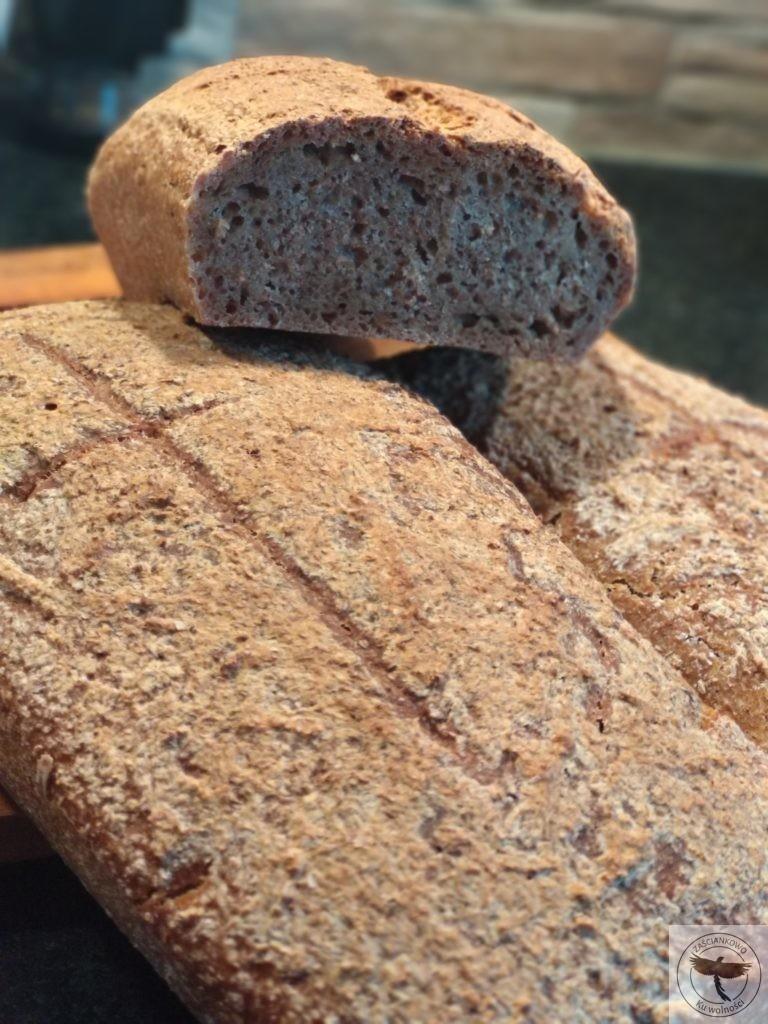 Chleb z płaskurki na zakwasie – przepis
